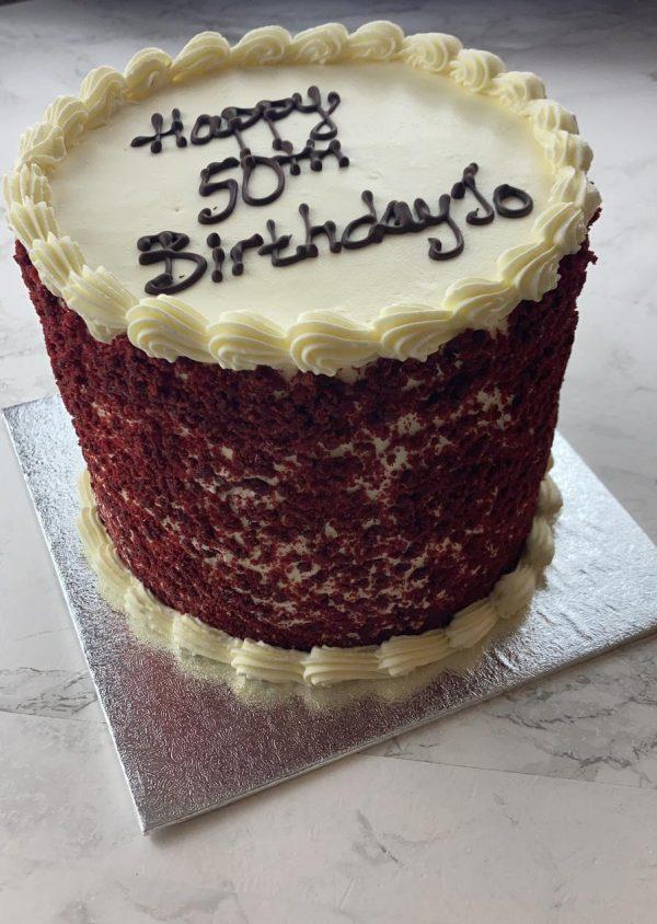 Red Velvet cake St Albans Hertfordshire birthday cake party events