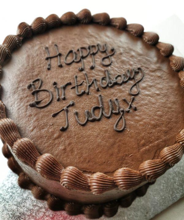 Chocolate fudge cake dairy free gluten free