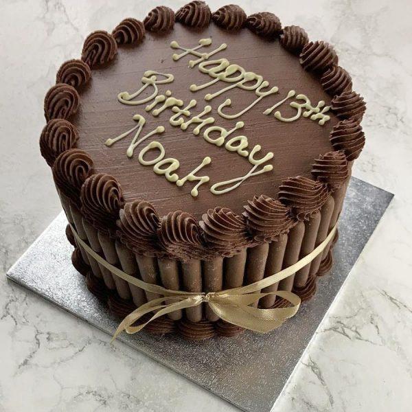 chocolate fudge cake birthday cake chocolate fingers St Albans Hertfordshire party
