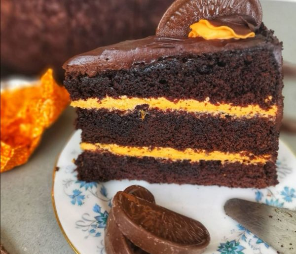 Chocolate Orange Cake birthday cake to order