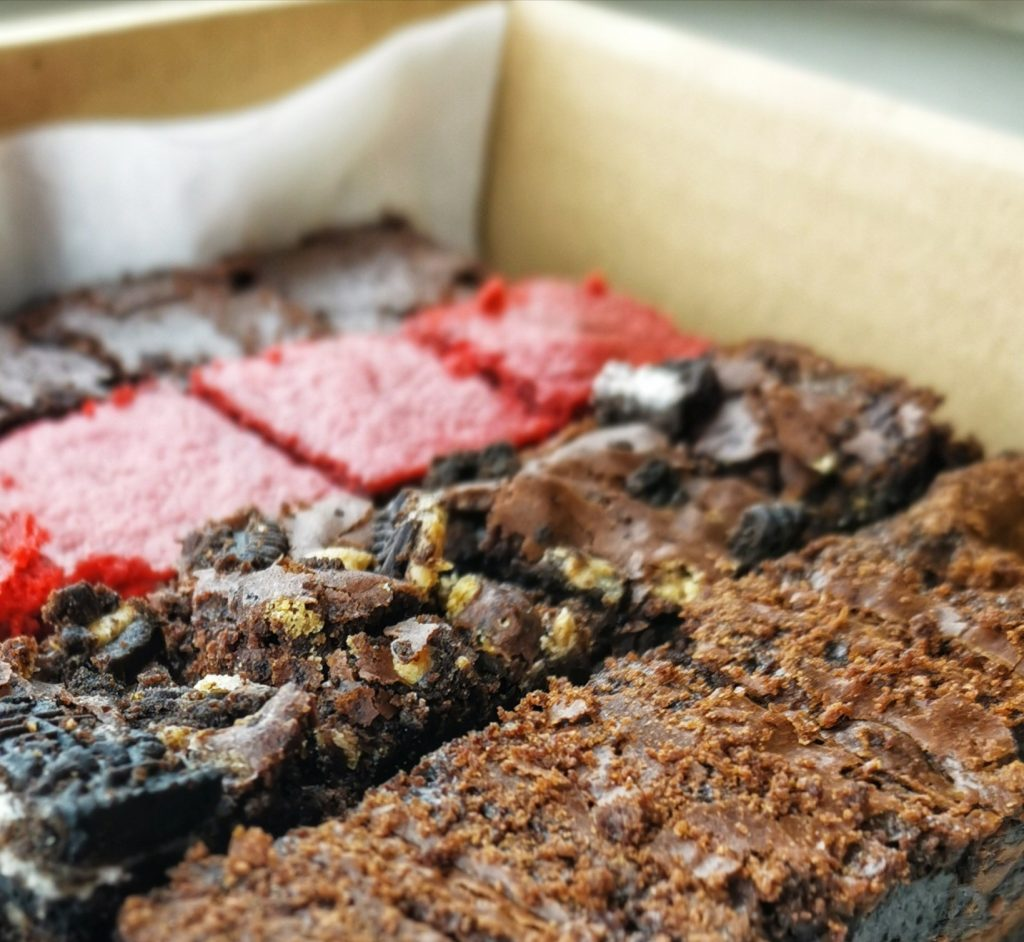 Brownie box shipping to UK, posted nationwide gift treat