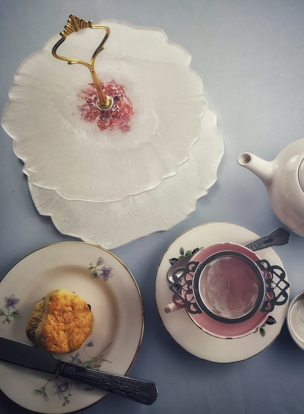 Afternoon Tea with strainer