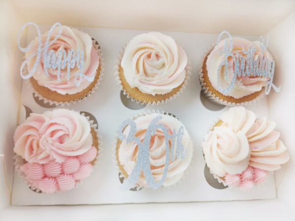 Happy Birthday Cupcakes in St Albans or Hertfordshire