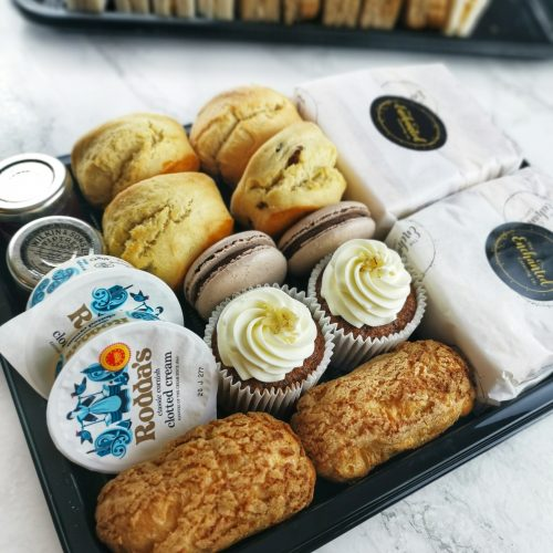 Afternoon Teas to go finger food St Albans Hertfordshire cakes sandwiches scone