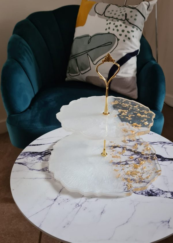 Afternoon Tea stands resin